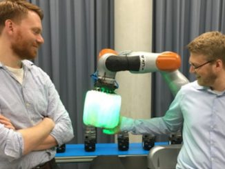 Robotic Airbag Keeps Human Co-Workers Safe