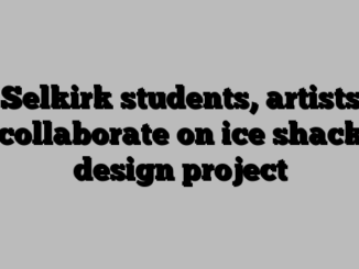 Selkirk students, artists collaborate on ice shack design project