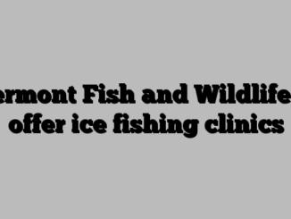 Vermont Fish and Wildlife to offer ice fishing clinics