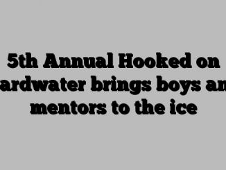 5th Annual Hooked on Hardwater brings boys and mentors to the ice