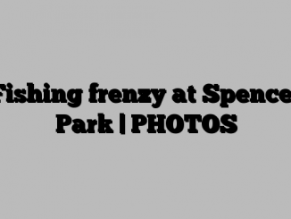 Fishing frenzy at Spencer Park | PHOTOS