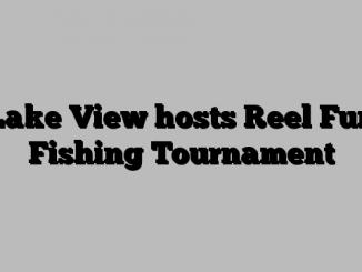 Lake View hosts Reel Fun Fishing Tournament