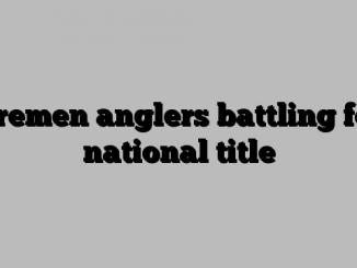 Bremen anglers battling for national title