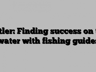 Butler: Finding success on the water with fishing guides