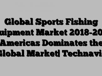 Global Sports Fishing Equipment Market 2018-2022| Americas Dominates the Global Market| Technavio