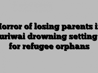 Horror of losing parents in Muriwai drowning setting in for refugee orphans