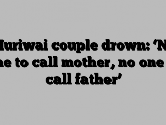 Muriwai couple drown: 'No one to call mother, no one to call father'