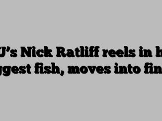 CU's Nick Ratliff reels in his biggest fish, moves into finals