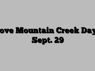 I Love Mountain Creek Day Is Sept. 29