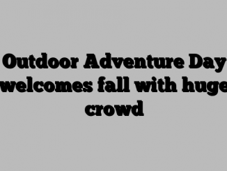 Outdoor Adventure Day welcomes fall with huge crowd