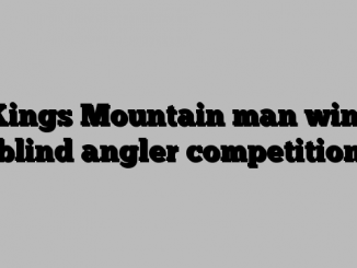 Kings Mountain man wins blind angler competition
